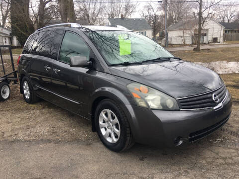 2008 Nissan Quest for sale at Antique Motors in Plymouth IN