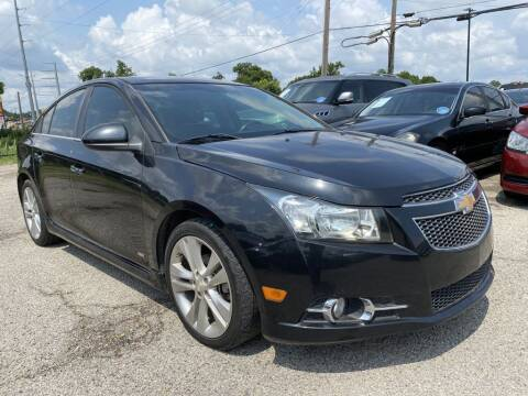 2012 Chevrolet Cruze for sale at Pary's Auto Sales in Garland TX