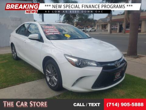 2016 Toyota Camry for sale at The Car Store in Santa Ana CA