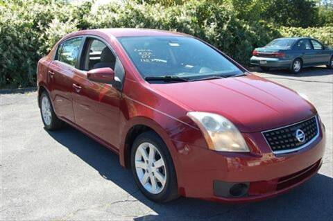 2007 Nissan Sentra for sale at CASTLE AUTO AUCTION INC. in Scranton PA