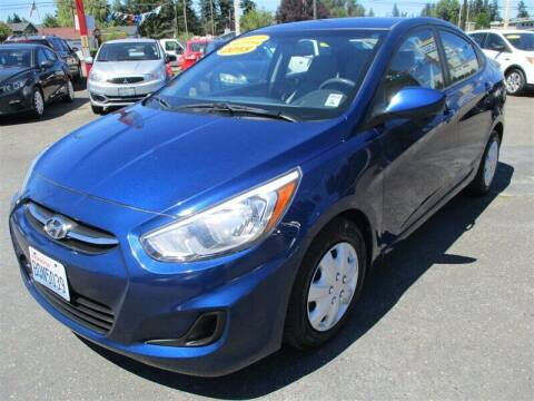 2015 Hyundai Accent for sale at GMA Of Everett in Everett WA