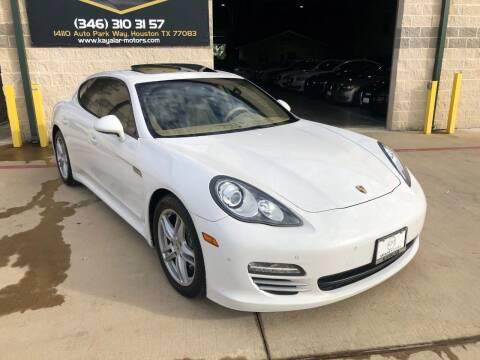 2011 Porsche Panamera for sale at KAYALAR MOTORS in Houston TX