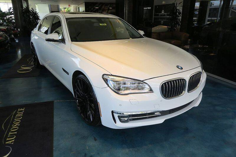 2014 BMW 7 Series for sale at OC Autosource in Costa Mesa CA