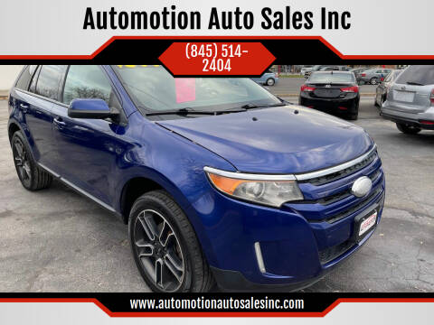 2013 Ford Edge for sale at Automotion Auto Sales Inc in Kingston NY