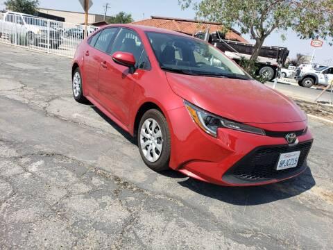 2020 Toyota Corolla for sale at ELITE MOTORS in Victorville CA