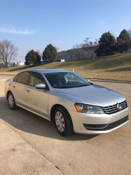 2013 Volkswagen Passat for sale at Divine Auto Sales LLC in Omaha NE