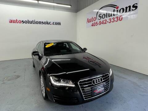 2014 Audi A7 for sale at Auto Solutions in Warr Acres OK