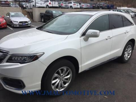 2018 Acura RDX for sale at J & M Automotive in Naugatuck CT