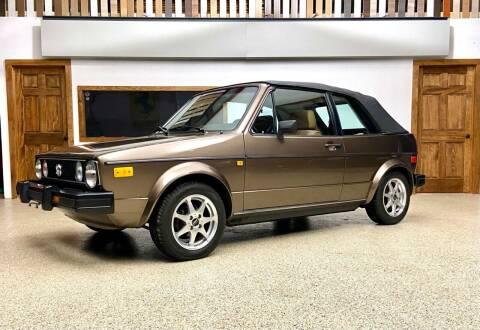 1984 Volkswagen Rabbit for sale at EuroMotors LLC in Lee MA