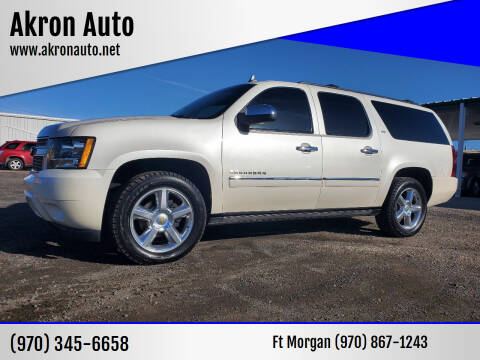 2012 Chevrolet Suburban for sale at Akron Auto - Fort Morgan in Fort Morgan CO