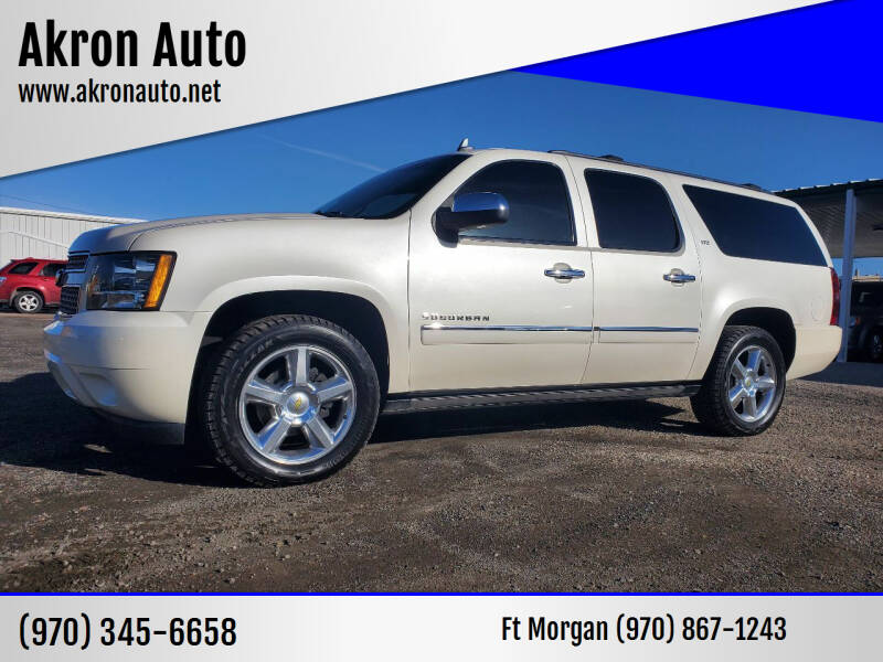 2012 Chevrolet Suburban for sale at Akron Auto in Akron CO