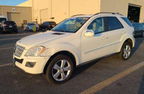2009 Mercedes-Benz M-Class for sale at SoCal Auto Auction in Ontario CA