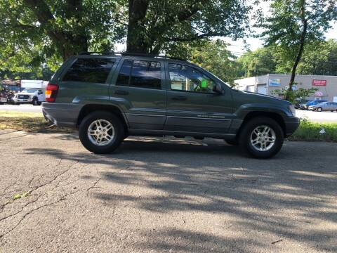 2002 Jeep Grand Cherokee for sale at Car-Nation Enterprises Inc in Ashland MA