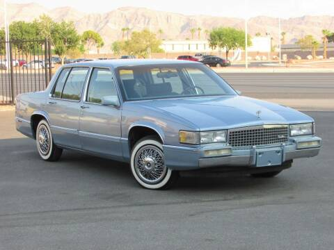 1989 Cadillac DeVille for sale at Best Auto Buy in Las Vegas NV