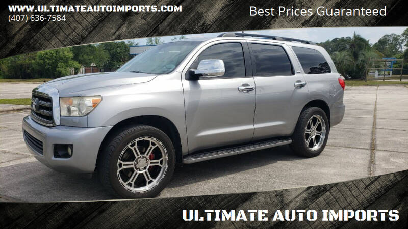 2008 Toyota Sequoia for sale at ULTIMATE AUTO IMPORTS in Longwood FL