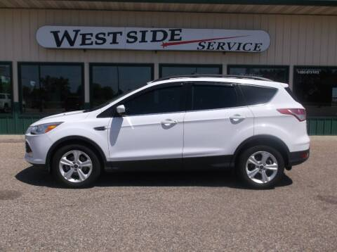 2016 Ford Escape for sale at West Side Service in Auburndale WI