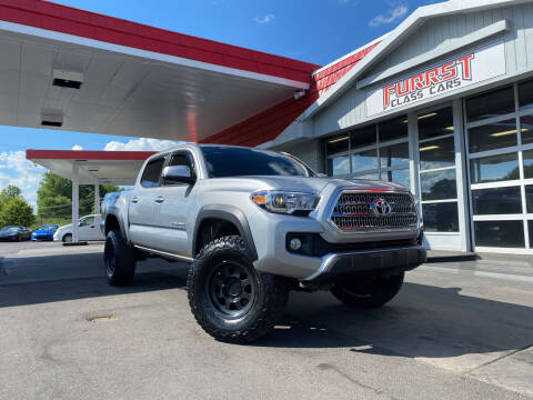 2017 Toyota Tacoma for sale at Furrst Class Cars LLC  - Independence Blvd. in Charlotte NC