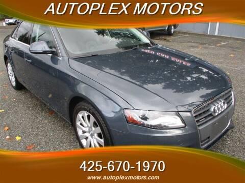 2009 Audi A4 for sale at Autoplex Motors in Lynnwood WA