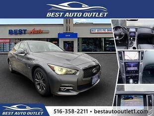 2017 Infiniti Q50 for sale at Best Auto Outlet in Floral Park NY