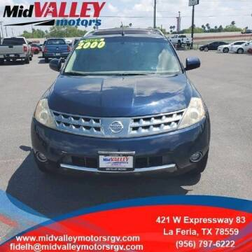 2007 Nissan Murano for sale at Mid Valley Motors in La Feria TX