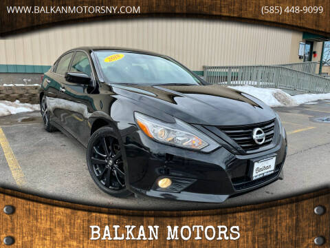 2018 Nissan Altima for sale at BALKAN MOTORS in East Rochester NY
