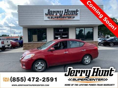 2013 Nissan Versa for sale at Jerry Hunt Supercenter in Lexington NC