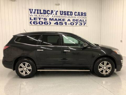 2015 Chevrolet Traverse for sale at Wildcat Used Cars in Somerset KY