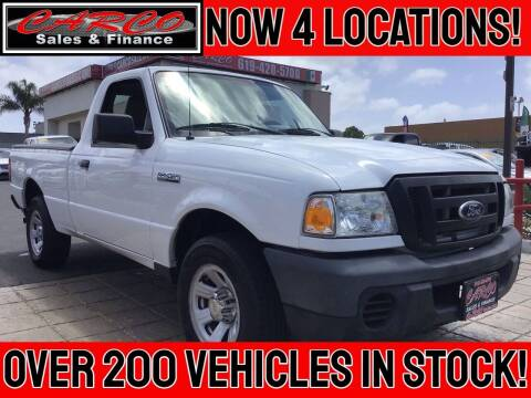 2011 Ford Ranger for sale at CARCO SALES & FINANCE in Chula Vista CA