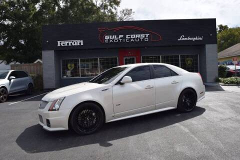 2009 Cadillac CTS-V for sale at Gulf Coast Exotic Auto in Biloxi MS
