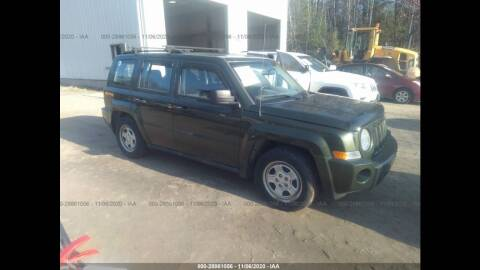 2009 Jeep Patriot for sale at Route 28 Auto Sales in Canton MA