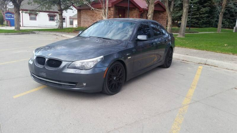 2008 BMW 5 Series for sale at KHAN'S AUTO LLC in Worland WY