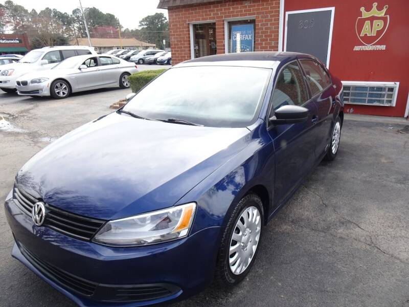 2013 Volkswagen Jetta for sale at AP Automotive in Cary NC