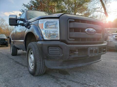 2012 Ford F-250 Super Duty for sale at Jacob's Auto Sales Inc in West Bridgewater MA