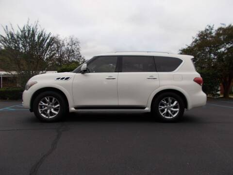 2012 Infiniti QX56 for sale at A & P Automotive in Montgomery AL