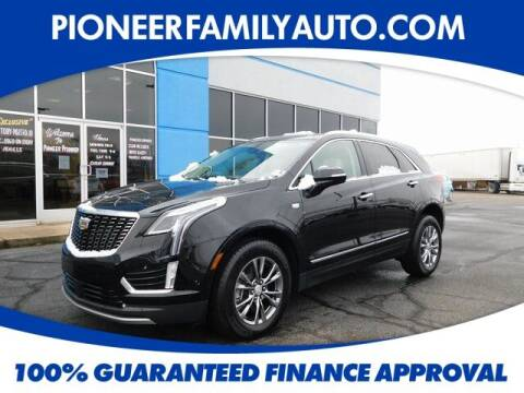 2020 Cadillac XT5 for sale at Pioneer Family auto in Marietta OH