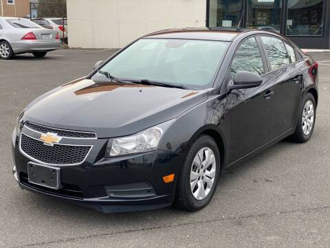 2013 Chevrolet Cruze for sale at MAGIC AUTO SALES in Little Ferry NJ