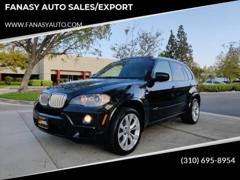 2009 BMW X5 for sale at FANASY AUTO SALES/EXPORT in Yorba Linda CA