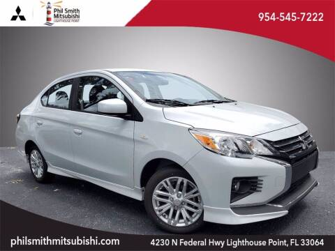 2021 Mitsubishi Mirage G4 for sale at PHIL SMITH AUTOMOTIVE GROUP - Phil Smith Kia in Lighthouse Point FL