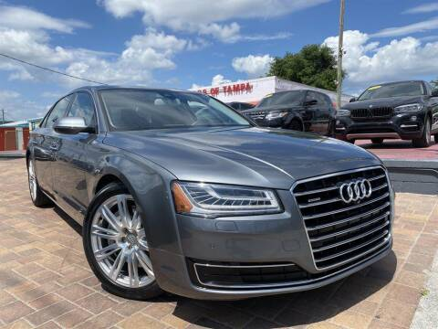 2015 Audi A8 L for sale at Cars of Tampa in Tampa FL