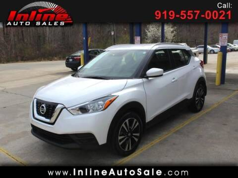 2019 Nissan Kicks for sale at Inline Auto Sales in Fuquay Varina NC