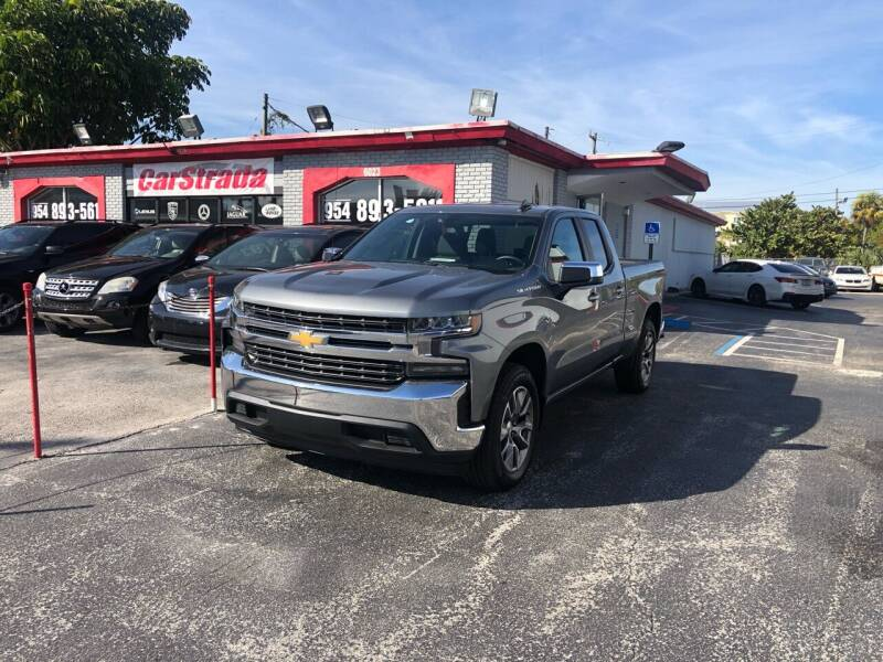 2020 Chevrolet Silverado 1500 for sale at CARSTRADA in Hollywood FL