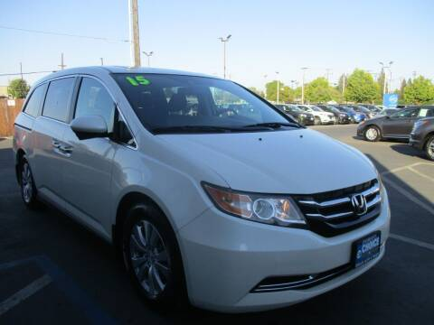 2015 Honda Odyssey for sale at Choice Auto & Truck in Sacramento CA