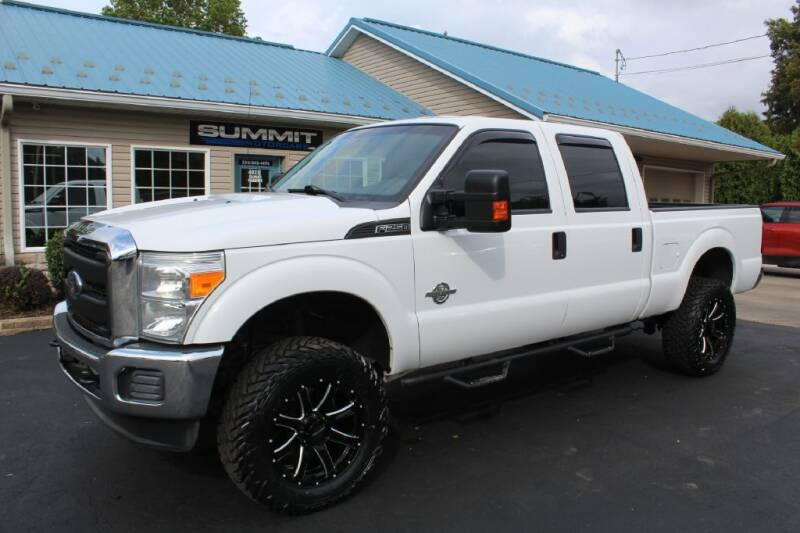 2016 Ford F-250 Super Duty for sale at Summit Motorcars in Wooster OH