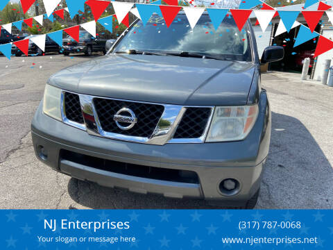 2006 Nissan Pathfinder for sale at NJ Enterprises in Indianapolis IN