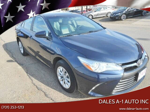 2016 Toyota Camry for sale at Dales A-1 Auto Inc in Jamestown ND