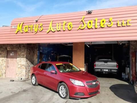 2013 Chevrolet Malibu for sale at Marys Auto Sales in Phoenix AZ