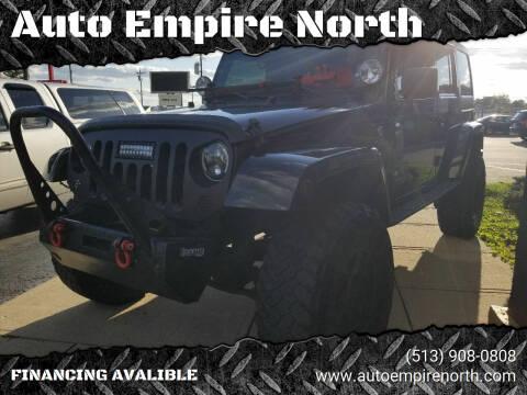 2013 Jeep Wrangler Unlimited for sale at Auto Empire North in Cincinnati OH
