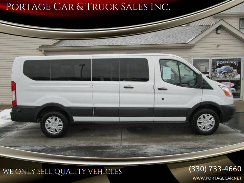2015 Ford Transit Passenger for sale at Portage Car & Truck Sales Inc. in Akron OH