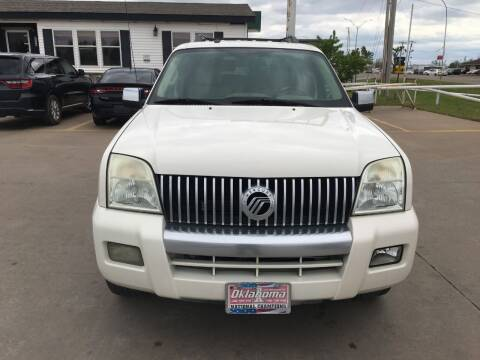 2007 Mercury Mountaineer for sale at Zoom Auto Sales in Oklahoma City OK