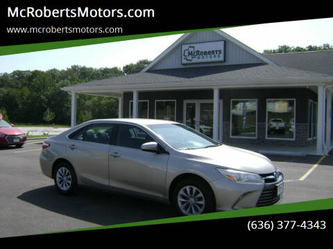 2016 Toyota Camry for sale at McRobertsMotors.com in Warrenton MO